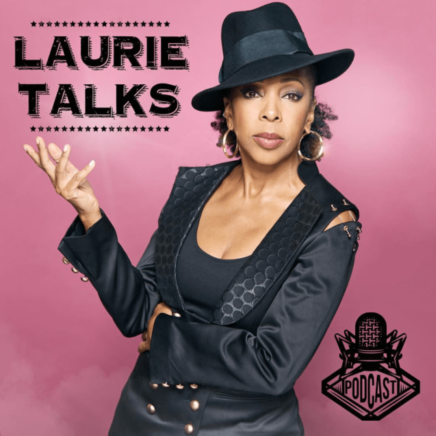 Laurie Talks Podcast - Channel Logo